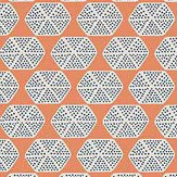 Thibaut Parada Orange Wallpaper - Product code: T2935