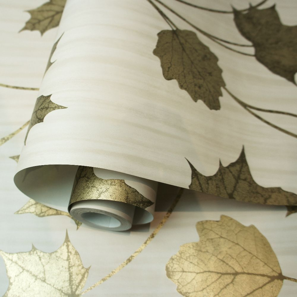 Albany Maple Beige Wallpaper - Product code: 90401