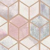 Albany Tafoni Pink Wallpaper