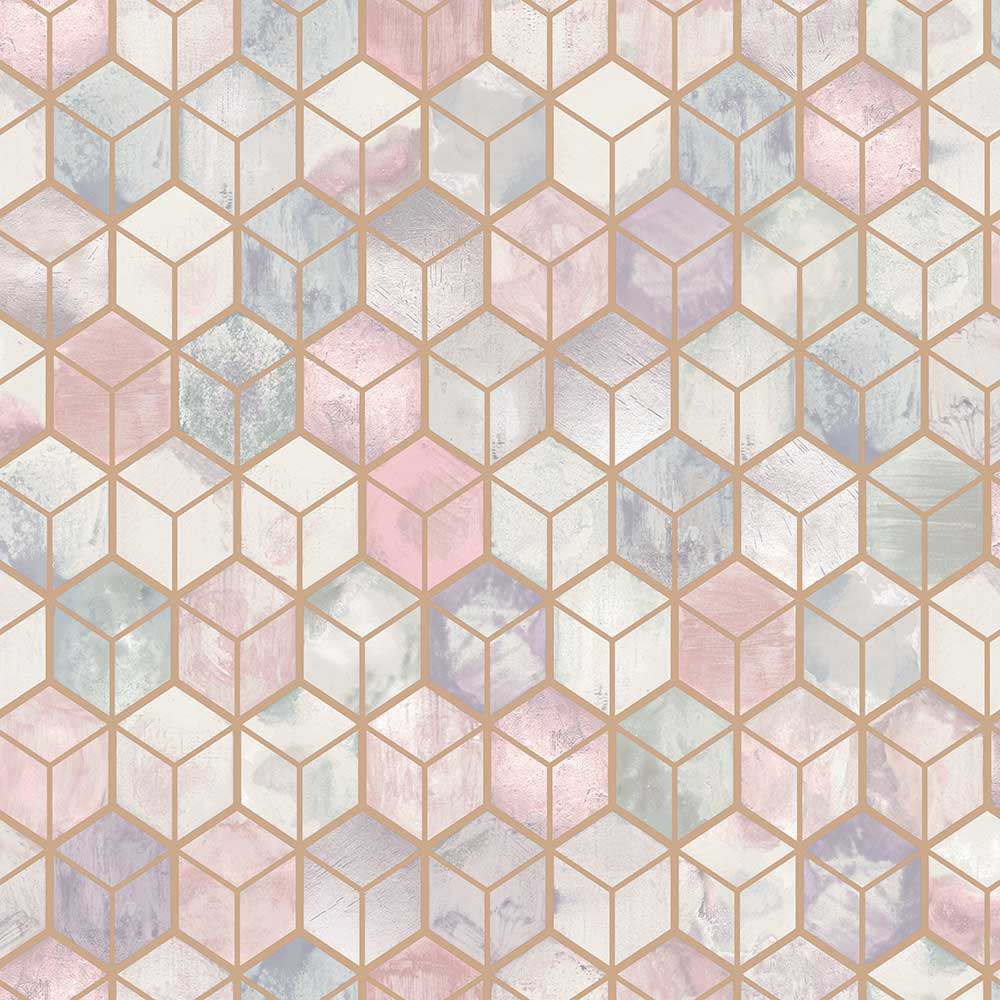 Albany Tafoni Pink Wallpaper - Product code: 90410