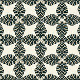 Thibaut Starleaf Black Wallpaper - Product code: T2971