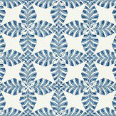 Thibaut Starleaf Blue Wallpaper - Product code: T2974
