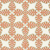 Thibaut Starleaf Orange Wallpaper - Product code: T2975