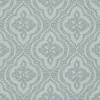 Thibaut Ophelia Aqua Wallpaper - Product code: T2996