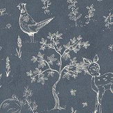 Sandberg Hollie Blue Wallpaper - Product code: 232-76