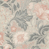 Sandberg Ava Grey  Wallpaper - Product code: 400-49