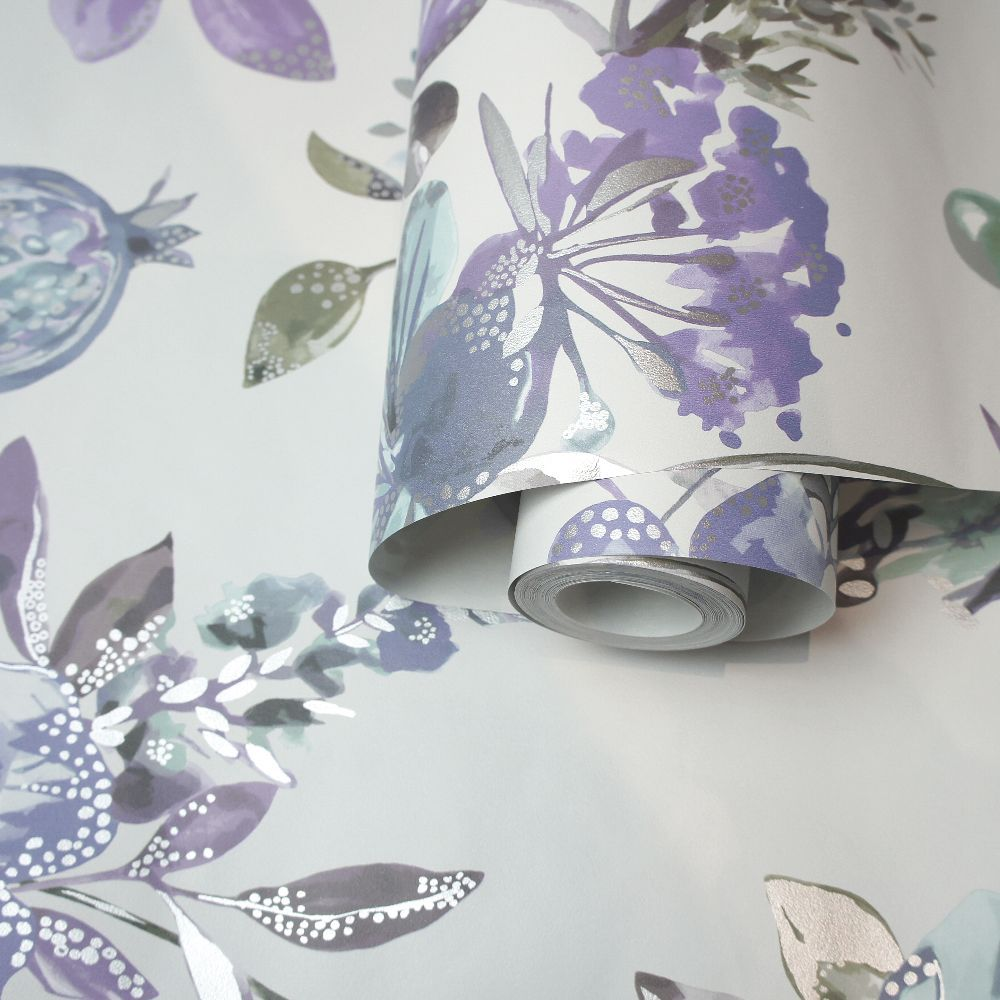 Albany Punica Heather Wallpaper - Product code: 90433