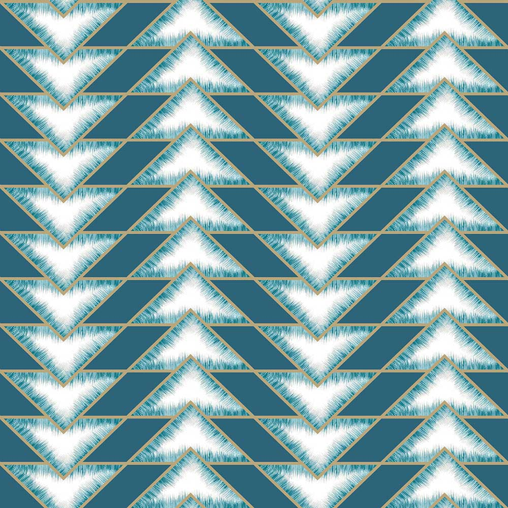 Albany Eiger Teal Wallpaper - Product code: 90450