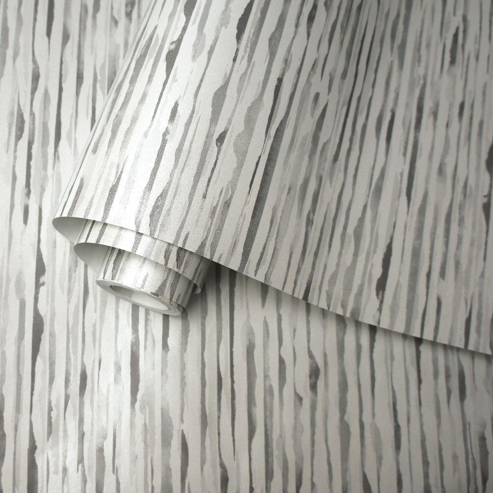 Danxia Wallpaper - Grey - by Albany