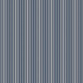 Boråstapeter Noble Stripe Dark Blue and Grey Wallpaper - Product code: 6884