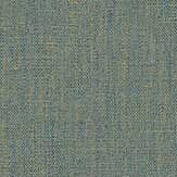 Caselio Linen Blue Gold Wallpaper - Product code: LINN68526320