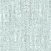 Caselio Linen Turquoise Silver Wallpaper - Product code: LINN68526899