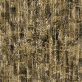 Anthology Zircon Basalt and Gold Wallpaper