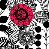 Marimekko Lintukoto Black & White Wallpaper - Product code: 23306