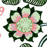 Marimekko Pieni Tiara Herb Green Wallpaper - Product code: 23332