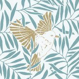 Caselio Birdy Blue Wallpaper - Product code: SNY10023 60 28