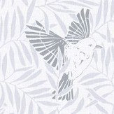 Caselio Birdy Grey Wallpaper - Product code: SNY10023 90 00