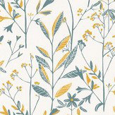 Caselio Laura Teal Wallpaper - Product code: SNY10026 60 20