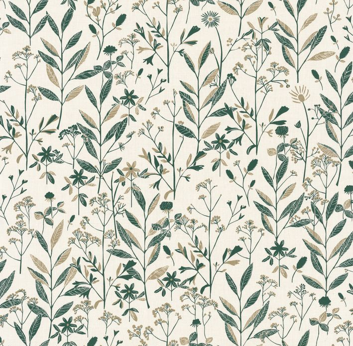 Caselio Laura Emerald Green Wallpaper - Product code: SNY10026 71 03