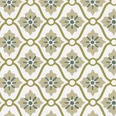 Caselio Caroline Green Wallpaper - Product code: SNY10028 70 70