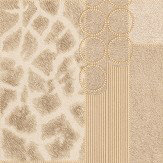 Albany Serengeti Faux Fur Gold/ Light Beige Wallpaper - Product code: 88700