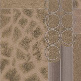 Albany Serengeti Faux Fur Gold/ Dark Coffee Wallpaper - Product code: 88706