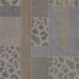 Albany Serengeti Faux Fur Gold/ Grey Wallpaper - Product code: 88708