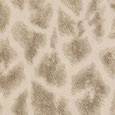 Albany Giraffe Faux Fur Gold/ Dark Beige Wallpaper - Product code: 88702
