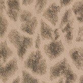 Albany Giraffe Faux Fur Gold/ Dark Coffee Wallpaper - Product code: 88707