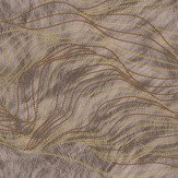 Albany Wave Fur Effect Dark Coffee Wallpaper - Product code: 88710