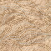 Albany Wave Fur Effect Beige Wallpaper - Product code: 88720