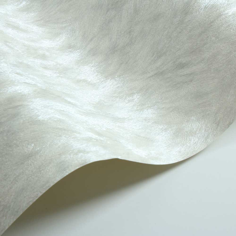 Wolf Fur Faux Wallpaper - Cream - by Albany