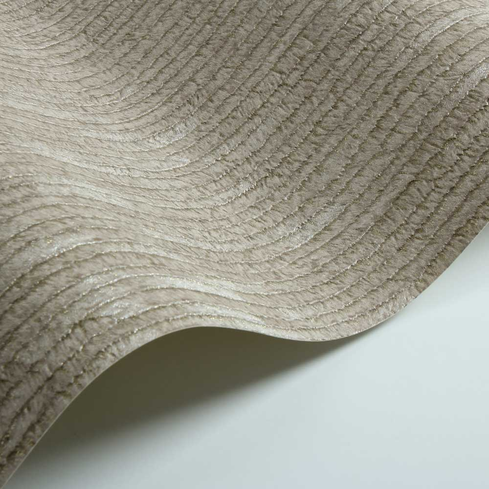 Albany Stripe Fur Effect Light Coffee Wallpaper - Product code: 88725