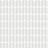 Engblad & Co Petal Grey and White Wallpaper