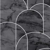 Engblad & Co Arch Grey and Black Wallpaper - Product code: 8824