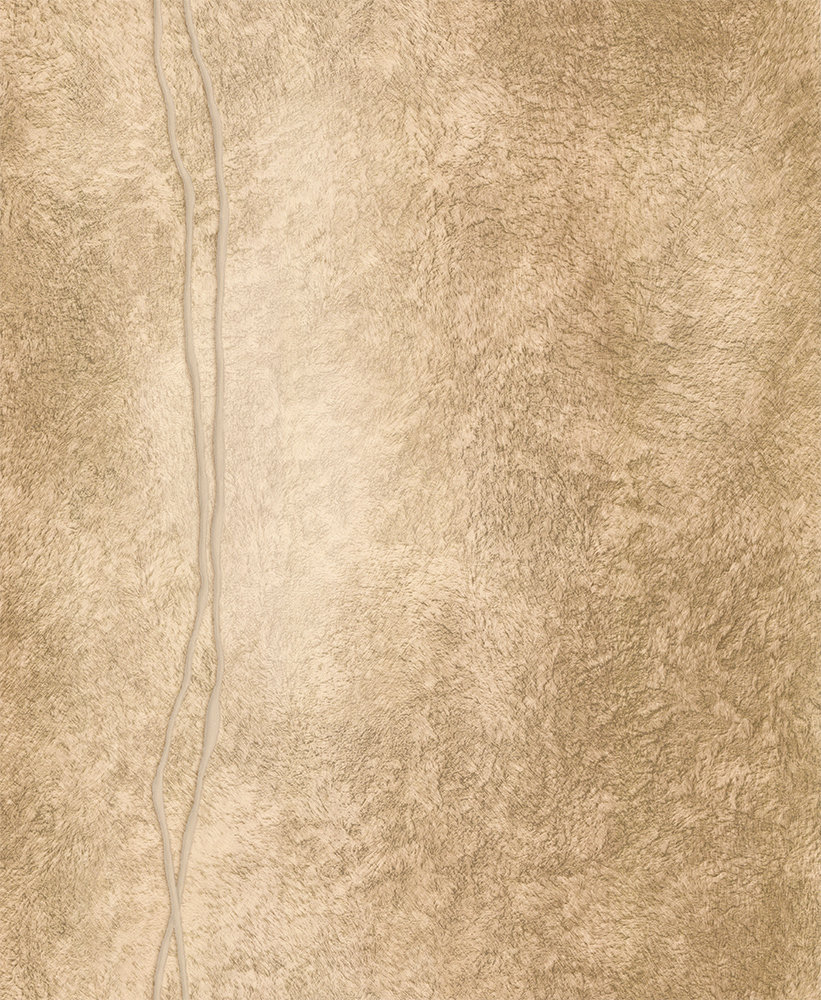Albany Fur Line Effect Gold and Coffee Wallpaper - Product code: 88749