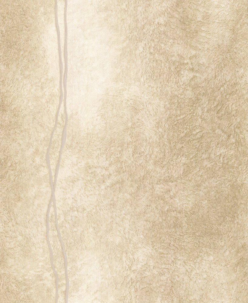 Albany Fur Line Effect Gold/ Beige Wallpaper - Product code: 88756