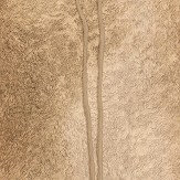 Albany Fur Line Effect Gold/ Brown Wallpaper - Product code: 88761