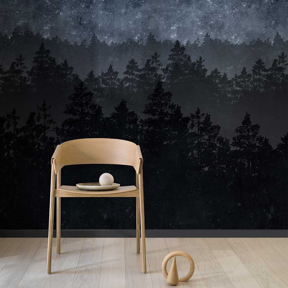 Nordic Night Mural - by Engblad & Co