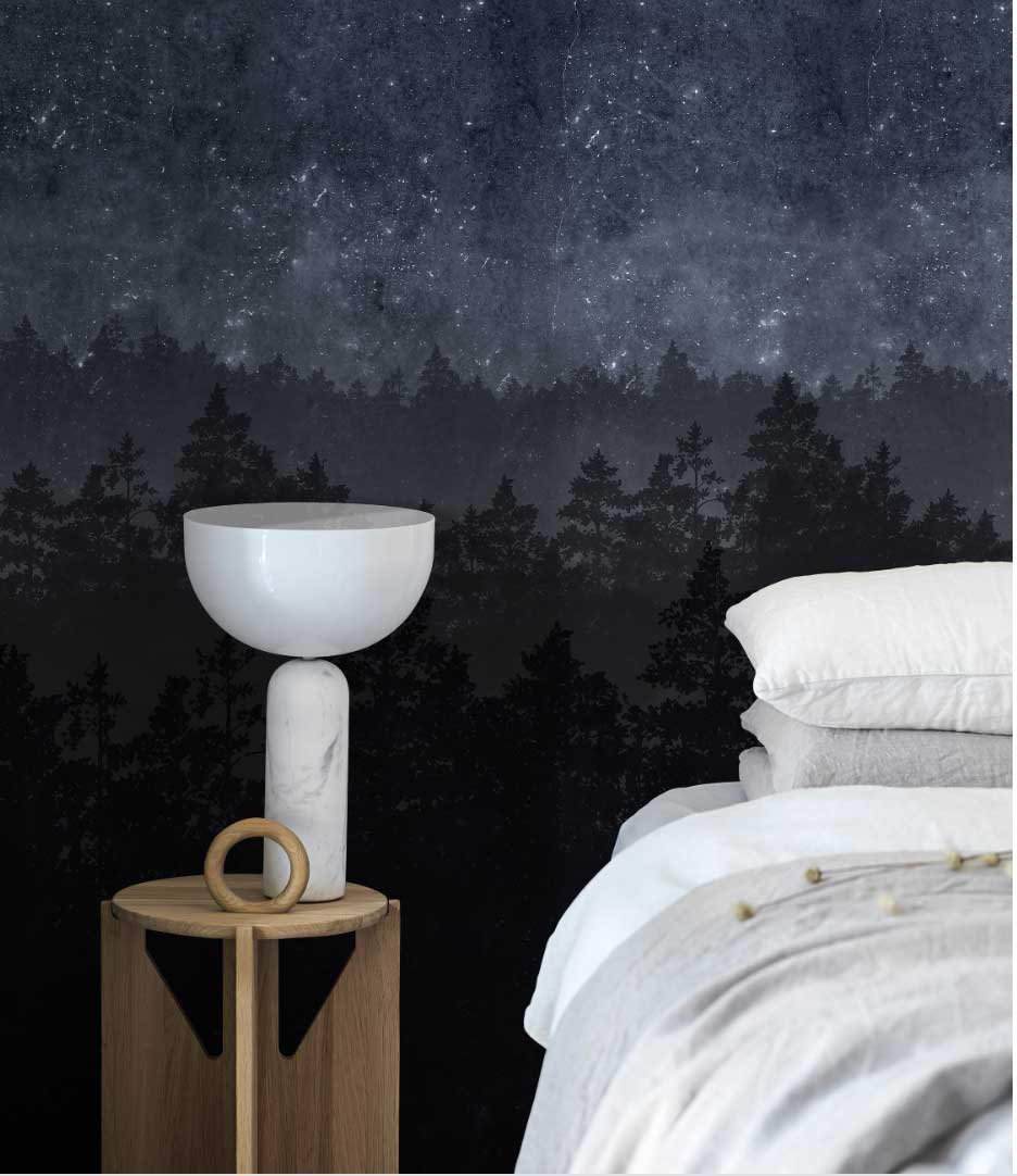 Engblad & Co Nordic Night Mural - Product code: 8845