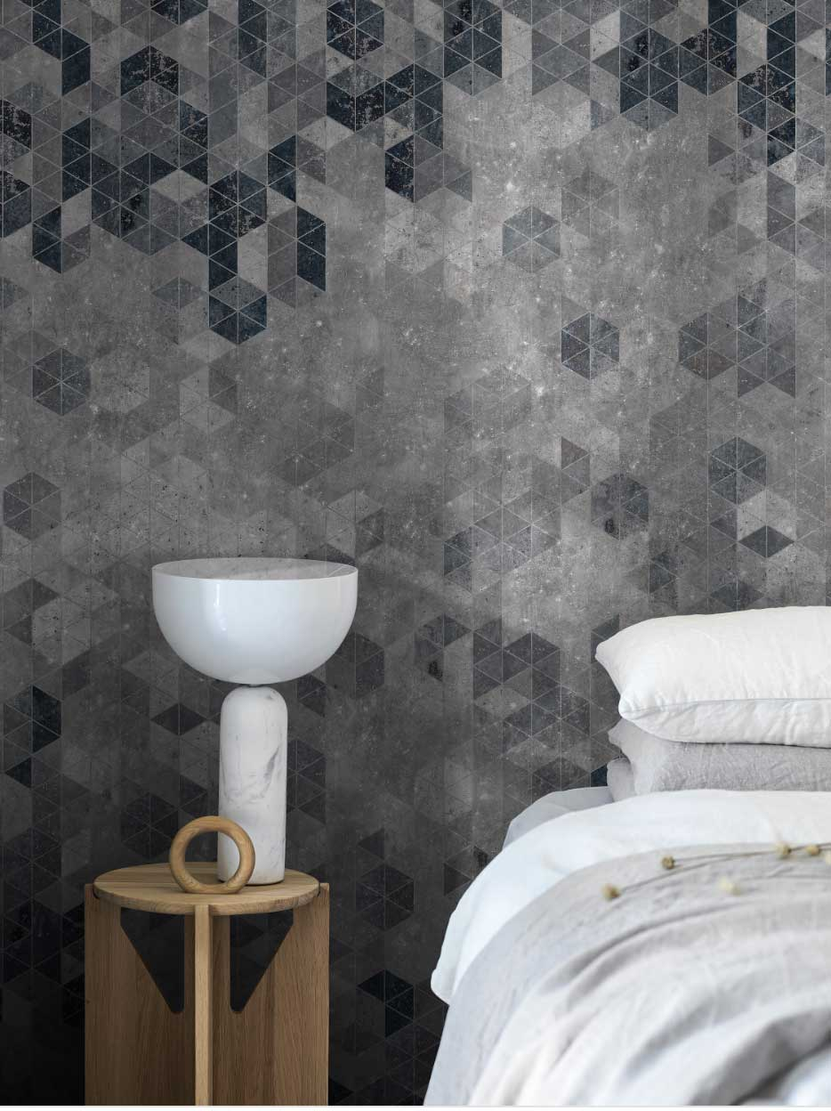 Engblad & Co Graphic Wall Grey  Mural - Product code: 8847