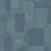 Threads Cubist Teal Wallpaper - Product code: EW15018/615