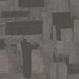 Threads Cubist Charcoal Wallpaper - Product code: EW15018/985