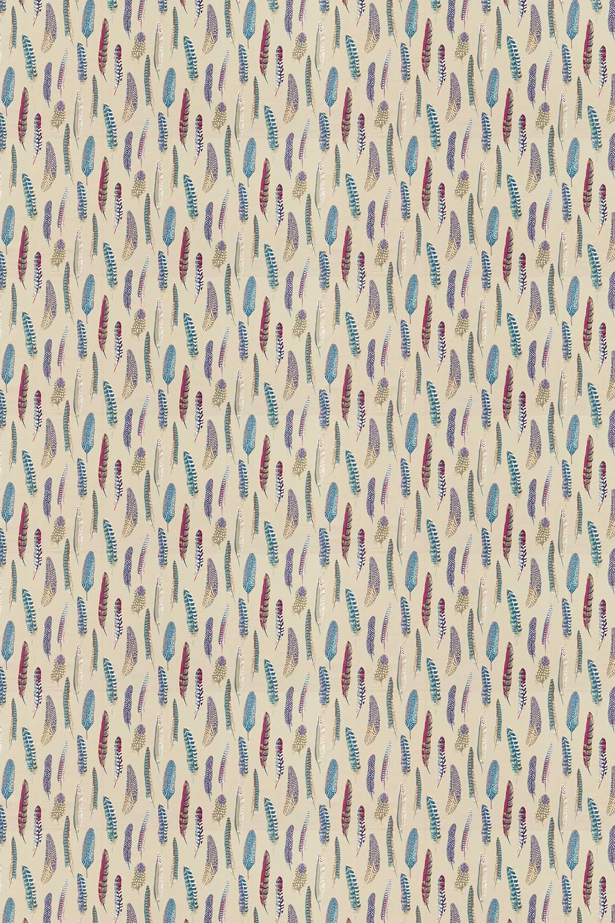 Sanderson Lismore Mulberry / Fig Fabric - Product code: 226521