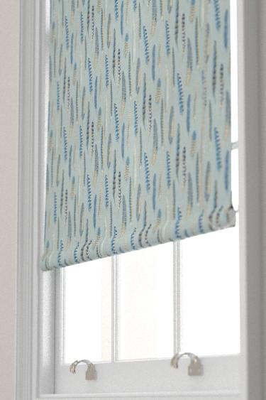 Sanderson Lismore Indigo / Silver Blind - Product code: 226523
