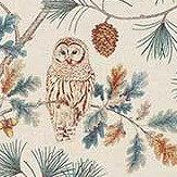 Sanderson Owlswick Teal Fabric