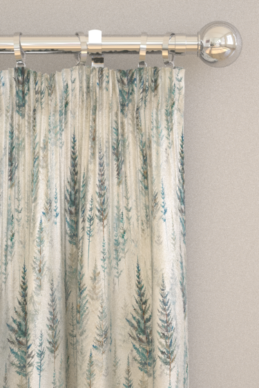 Sanderson Juniper Pine Forest Curtains - Product code: 226534
