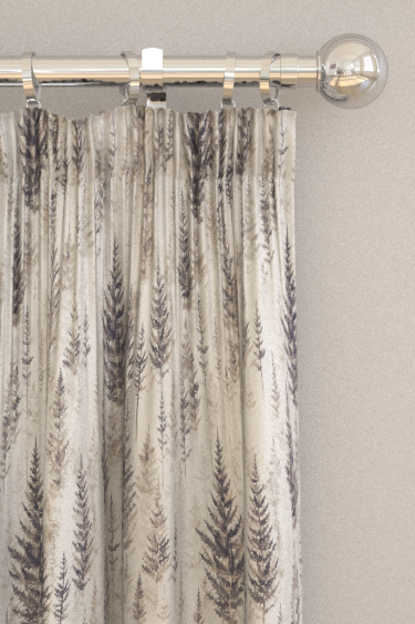 Sanderson Juniper Pine Elder Bark Curtains - Product code: 226535