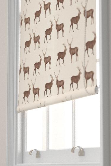 Sanderson Evesham Deer Linen / Chalk Blind - Product code: 226528