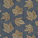 Sanderson Flannery Fig / Copper Fabric